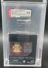 "Star Wars Black Series ""The Child"" (Light Cuffs and Collar) AFA 8.5 (Archival)"