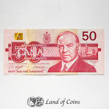 CANADA: 1 x 50 Canadian Dollar Banknote. Dated 1988.