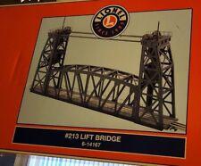 Lionel Trains #213 Operating Lift Bridge Accessory 6-14167 New In Box O Gauge