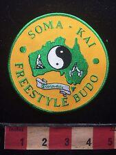 Freestyle Budu Soma Kai Martial Arts Yin & Yang Patch S74P