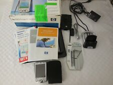 Hp Ipaq H2215 Pocket Pc Pda Accessories & Charger Complete