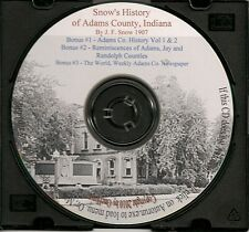 Adams County Indiana History + Bonus books