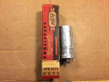 Nos Nib 1950s Astron 20 + 40 + 100 + 80 uf 475v 300 50 Guitar Amp Can Capacitor