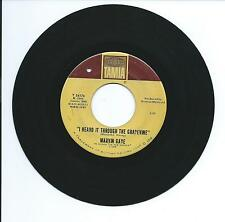 "1968 MARVIN GAYE ""I HEARD IT THROUGH THE GRAPEVINE"" 45rpm 7"""