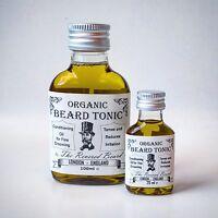 Organic Conditioning Beard Oil, 100ml, light scent, Beard Tonic by Revered Beard