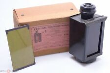 3 COLOR ANTIQUE DARK ROOM FOR OIL LAMP, SAFELIGHT COLLODION, ENSIGN, KODAK BOXED