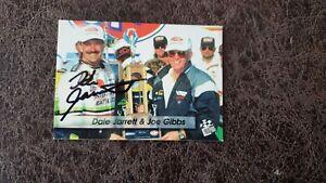 1994 Press Pass Dale Jarrett #34 - NASCAR - Autographed!