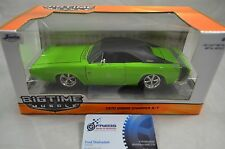 1:24 Bigtime Muscle 1970 Dodge Charger R/T in Green and Black