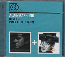2 CD ALAIN BASHUNG NOVICE + PASSE LE RIO GRANDE  COLLECTION 2 FOR 1 NEUF SCELLE