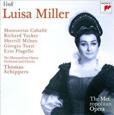 Verdi: Luisa Miller (2 Discs Sony, AM) Caballe, Milnes, Tucker, Tozzi, Schippers