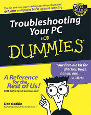 Troubleshooting Your PC for Dummies (For Dummies (Computers)), Gookin, Dan, New