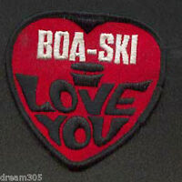 Vintage BOASKI Boa-Ski Snowmobile Sled Badge/ Patch 1970's Skidoo
