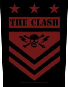 CLASH military shield 2020 GIANT BACK PATCH 36 x 29 cms OFFICIAL MERCHANDISE