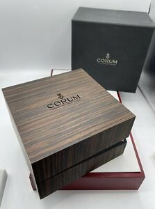 corum wood watch box