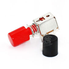 6 Pin Self Locking Latching Push Tactile Button Switch And Cap Dpdt Power Switch