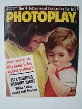 Photoplay Magazine JFK Jr. Photograph Cover Elvis & Marilyn Monroe Gossip 196