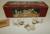 Precious Moments Mini Christmas Nativity Pewter Cow Donkey Camel Accessory w Box