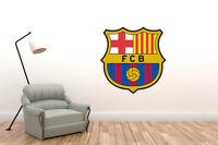 Wall Decal Barcelona Logo - Soccer Spain Decor Vinyl Art Mural Sport Sticker