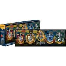 Aquarius Harry Potter Crests Slim Puzzle 1,000 Piece Jigsaw Puzzle