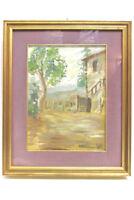 Gemälde Italienische Landschaft signiert Scotti