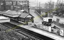 Newcastle-Under-Lyme Railway Station Photo. Stoke - Silverdale. Keele Line. (2)