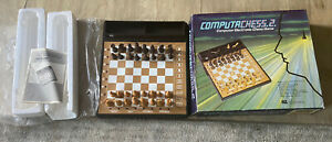 CGL Vintage Chess Computer Game Fully Working Complete With Box