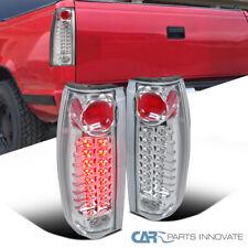 For 88-98 Chevy GMC C/K C10 Silverado Blazer Tahoe Clear LED Tail Brake Lights
