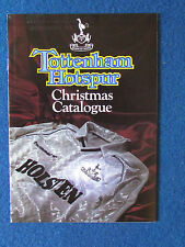 Tottenham Hotspur - Merchandise Catalogue - Christmas 1987