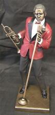 LARGE 29cm TALL JAZZ BAND SINGER/TRUMPET PLAYER SCULPTURE Music