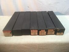 Antique Supertone player piano rolls, lot of 7 Assorted Artist Songs