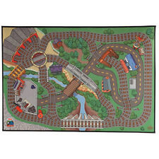 """Thomas the Train FELT PLAY MAT 27"""" x 39"""" - RARE DESIGN - BRAND NEW IN PACKAGE"""