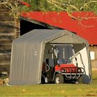 ShelterLogic 10' x 10' Shed-in-a-Box All Season Steel Metal Peak Roof Outdoor St
