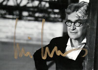 "Wim Wenders Regisseur ""Pina"" + Fotograf original signiert/signed !!!"