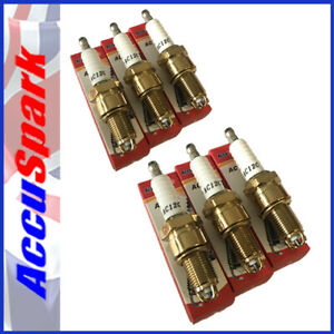 AccuSpark AC12C Spark Plugs for Austin Healey 3000 x6