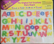 FELT CREATIONS STORY BOARD ~ ALPHABET ~ NEW AND SEALED