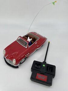 VTG Radio Shack Stuart Little Remote Control Red Roadster Car 1999 Movie Mouse