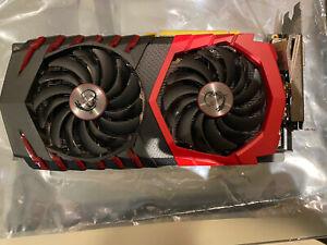 MSI GeForce GTX 1060 6GB GDDR5 GAMING X 6G Graphics Card
