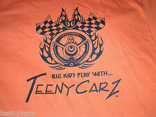 Hot Wheels Redline Lesney Superfast Topper CUSTOM TEENYCARZ T-shirt LOOK 2XL