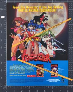 VOLTAGE FIGHTER GOWCAIZER__Original 1997 Trade Print AD / ADVERT__anime promo