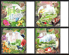 """Singapore 1608-1611, MNH. """"Our City in a Garden"""". Buildings, 2013"""