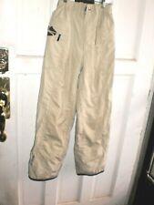 "Mens sz XS BONI ERE ski snowboard pants 28 inseam 24 to 36"" Waist lined beige"