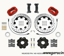 Wilwood Forged Dynalite Front Big Brake Kit-Red,Fits 16-17 Mazda Miata,MX5,Fiat-