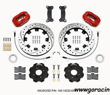 Wilwood Forged Dynalite Front Big Brake Kit,Red,Fits 16-17 Mazda Miata,MX5,Fiat^