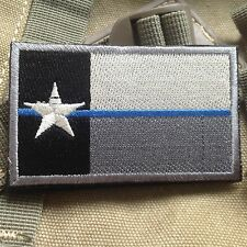 New listing Texas Tx State Flag Usa Army Morale Tactical Military Badge Forest Patch
