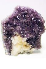 MINERALE DRUSA AMETISTA methyst Druse Bergkristall Amethyst  Geode AMETHYSTE
