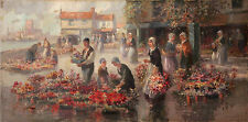 Antique 20th Century Oil Painting by Francis William van Vreeland (1879-1954)