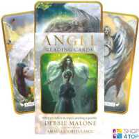 ANGEL READING KARTEN DECK DEBBIE MALONE ESOTERIC TELLING US GAMES SYSTEMS NEU