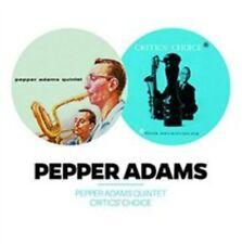 Pepper Adams - Pepper Adams Quintet/Critics' Choice  (CD, May-2015, Phono)