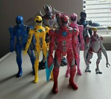 New listing Bandai Power Rangers Legacy Collection 2017 Movie Figures Complete Set