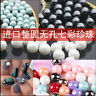Wholesale 2-14mm No Hole ABS Pearl Round Acrylic Beads DIY 16 Color